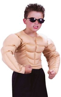 Muscle Shirt Bodybuilding Child Halloween Costume 5852