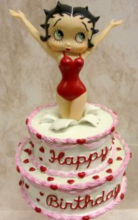 Betty Boop Bingo Fund Bank Figures Animation Art 6791