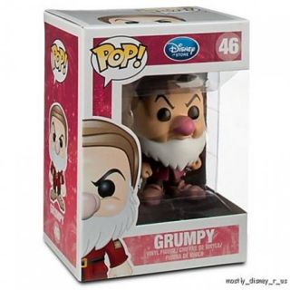 NEW Disney Pop Funko 4 Vinyl Figure New Snow White Grumpy Dwarf