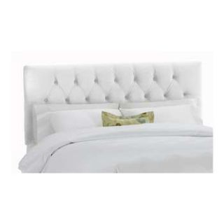 Skyline Furniture Full Tufted Headboard White 541FVWHT
