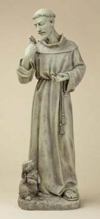 Josephs Studio St Francis of Assisi Religious 24 Hand Sculpted