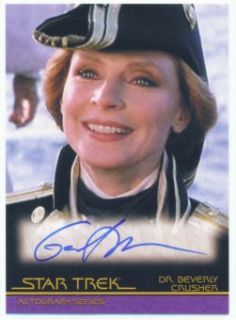 Gates McFadden Autograph A81 Quotable Star Trek Movie