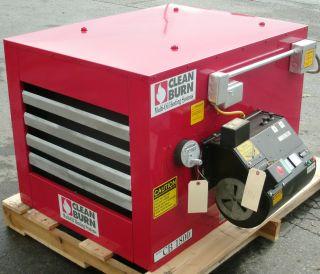 Clean Burn CB1800 Waste Oil Furnace Heater Burner