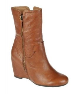 Franco Sarto Womens Shoes Mercury Fashion Mid Calf Leather Boots New
