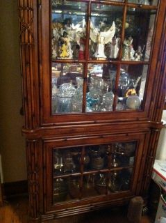 American Signature West Indies Collection Glass China Cabinet