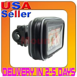 New Waterproof GPS Motorcycle Bicycle Mount for Garmin TomTom Magellan