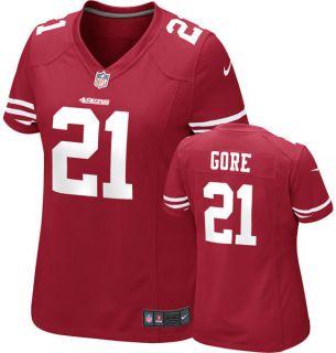 San Francisco 49ers Frank Gore Womens Nike Game Replica Jersey