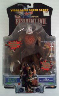 Resident Evil 2 Figure William G 3 G 4 Capcom Toy Biz