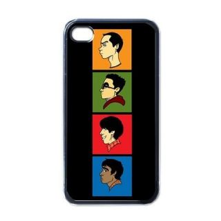 Big Bang Geek Squad iPhone 4 Hard Case Cover