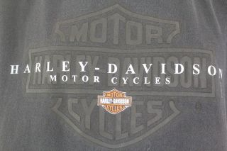 Harley Davidson LARGE Cool Springs Franklin TN Black T shirt Eagle