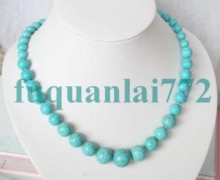 Handmade Gemstone Turquoise Beaded Necklace