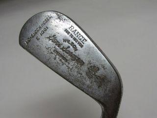 Vintage Wilson Gene Sarazen No Shock Hosel E1001 Chromium 2 Iron RH
