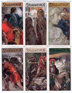 1908 Ancient Rome Enemies Card Set Anthony and Cleopatra Julius Caesar