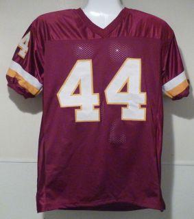 John Riggins Autographed Signed Washington Redskins Red Size XL Jersey