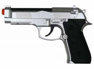 TSD M9 CO2 Gas Airsoft Gun Pistol SILVER