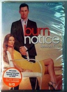 burn notice season five dvd 2012 4 disc set