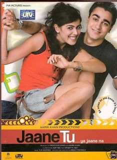Jaane Tu Imran Khan Genelia Indian Hindi DVD Movie