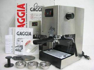 Gaggia 14101 Classic Espresso Coffee Capuccino Machine Maker