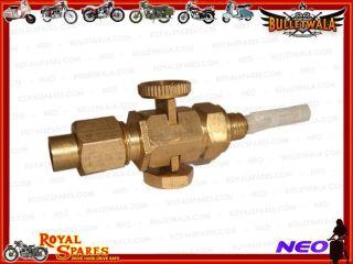 Brass Fuel Petrol Gas Tank Tap ck Triumph BSA AJS