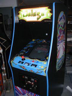 Galaga MS Pacman Pac Man Video Arcade Game New Artwork