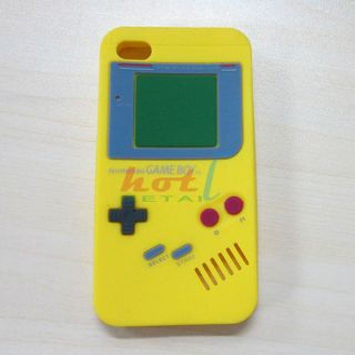 Silicone Case Cover Protector Gameboy Game Boy Fr iPhone 4S