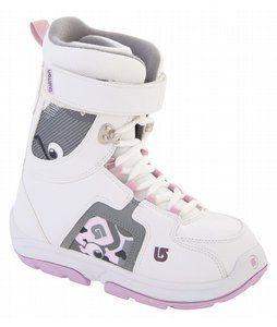 Burton Freestyle Kids Snowboard Boots Youth Size 1 Girls Child Snow