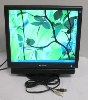 Gateway FPD1765 17 inch Flat Panel LCD Monitor Display VGA DVI 191F