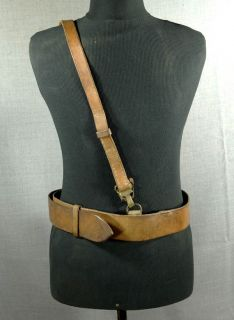 1939 WWII Germany German Officer Luger P08 Pistol Gun Holster Leather