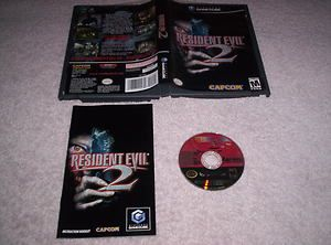 Resident Evil 2 GameCube Game Cube GC Complete