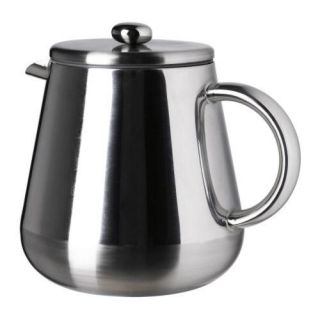 Wall Thermal Stainless Steel French Press Coffee Maker 8 CP 1 L