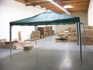 13x10 Pop Up Gazebo Party Tent Awning Green Gazebos