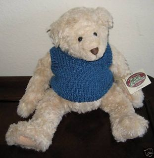 Ganz Cottage Collectibles Teddy Bear Chester MWT