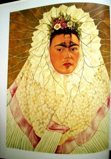 FRIDA KAHLO he Painings Herrera, Diego Riveras Wife,1991,Lovely