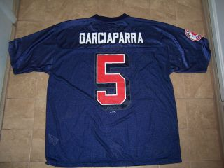 Adidas Boston Red Sox Nomar Garciaparra Baseball Jersey Adult Large