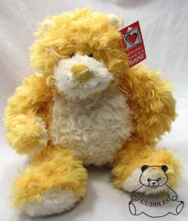 Bellifuls Cat Ganz Plush Toy Stuffed Animal Yellow White Kitten Floppy