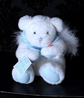 GANZ Its A Boy Angel Bear Stuffed Animal Plush Toy Moves & plays