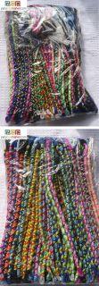100 Friendship Bracelets Trencitas + Ceramic beads mix