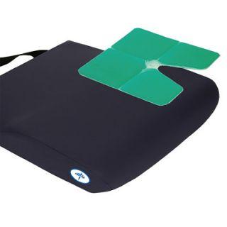 Medline Antithrust Gel Wheelchair Seat Cushion 18x18