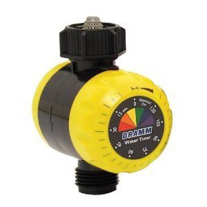 Water Hose Lawn Timer for Sprinkler System 2 Hrs Yellow