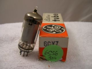 Vintage Electronic Vacuum Tube General Electric 6CY7 NOS