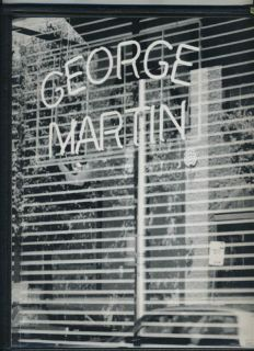 george martin menu new york city 1997