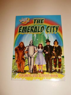 "Wizard of oz ""Emerald City"" Coloring Book Judy Garland"
