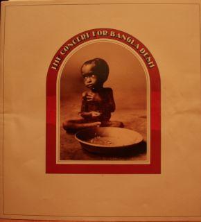 George Harrison Bob Dylan Eric Clapton Concert for Bangla Desh LP 3xLP
