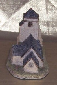 St. Georges Church by David Winter Hand Made Hand Painted Beautiful
