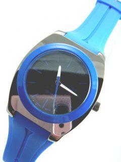 Minimalist Silicone Jelly Rubber Geneva Watch Several Colors