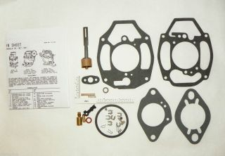 Fuel System Carburetor Repair Kit Rochester 1 Barrel 216 235 ci 1932