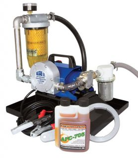 Algae X TK 240 XT Portable Tank Cleaning Fuel Transfer System