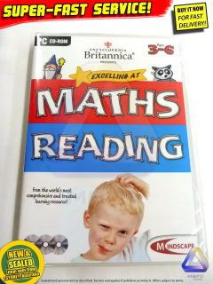 Maths Reading games PC Educational kids toys Computer software
