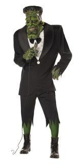 Adult Men Big Frank Frankenstein Halloween Costume