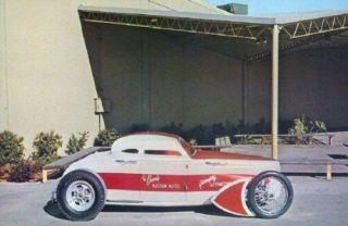 George Barris Dobie Gillis Coupe Show Rod Postcard